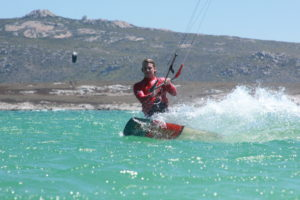 Learn to kitesurfing Langebaan